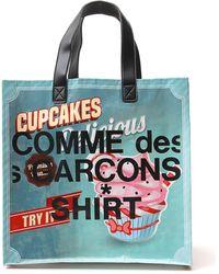 Comme des Garçons Printed Tote Bag - Multicolour