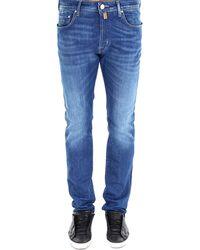 Jacob Cohen Classic Slim Fit Jeans - Blue