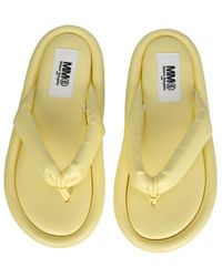 MM6 by Maison Martin Margiela Padded Sandals - Multicolor