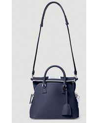 Maison Margiela Mini 5ac Tote Bag - Blue