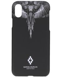Marcelo Burlon Black Wings Iphone Xs Case