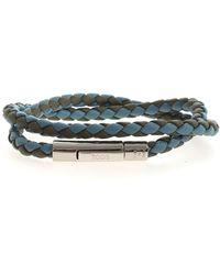 Tod's Weave Bracelet - Blue