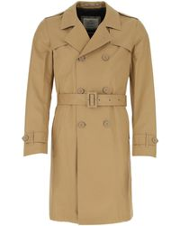 Herno - Belted Trench Coat - Lyst