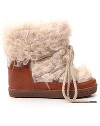 Isabel Marant Nowles Snow Boots - Multicolour
