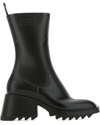 Chloé Betty Rain Boots - Black