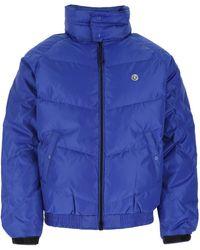 BBCICECREAM Blue Polyester Down Jacket Nd Uomo