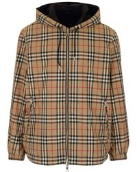 Burberry Reversible Vintage Check Hooded Jacket - Multicolor
