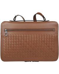 Bottega Veneta - Zipped Intrecciato Case - Lyst
