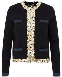 Lanvin Blazer Cardigan Jacket - Multicolour