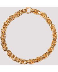 Bottega Veneta Chain Linked Necklace - Metallic