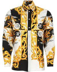 Versace Baroque Print Shirt - Multicolour