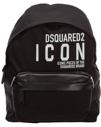 DSquared² Icon Backpack - Black