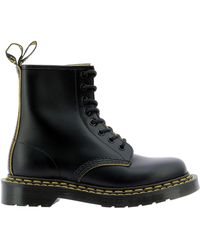 Dr. Martens , 1460 Mono 8-eye Leather Boot For And , Black Smooth, 13 Us /12 Us