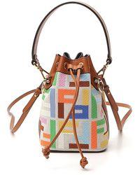 Fendi Mini Mon Tresor Bucket Bag - Multicolor