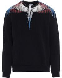 Marcelo Burlon Wings Sweatshirt - Black