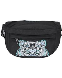 KENZO Kampus Tiger Belt Bag - Black
