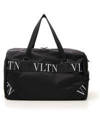 Valentino Valentino Garavani Boston Travel Bag - Black