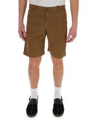 Barena Elasticated Waist Shorts - Natural