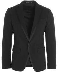 DSquared² Smocking Suit Set - Black