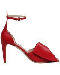 RED Valentino Redvalentino Garavani Bow Detail Strap Sandals