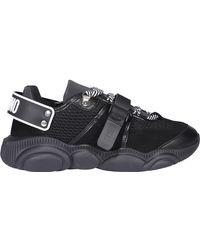 Moschino Roller Skate Teddy Sneakers - Black
