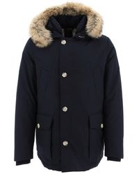 Woolrich Arctic Anorak Padded Jacket - Blue