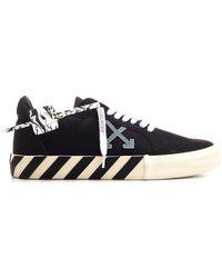 Off-White c/o Virgil Abloh Vulcanized Sneakers - Black