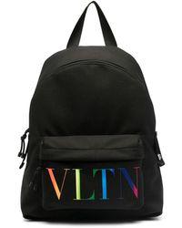 Valentino Vltn Backpack - Black