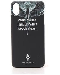 Marcelo Burlon Wings Iphone Xs Max Case - Black