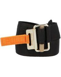 Heron Preston Embossed Logo Belt - Black