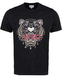 KENZO Tiger Crewneck T-shirt - Black
