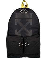 Off-White c/o Virgil Abloh Arrows Print Backpack - Black