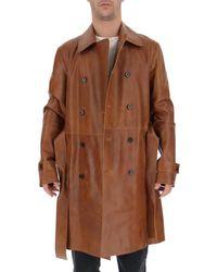 DESA NINETEENSEVENTYTWO Double-breasted Coat - Brown
