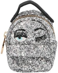 Chiara Ferragni Flirting Eye Mignon Mini Belt Bag - Metallic