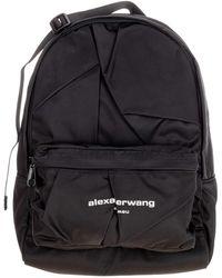 Alexander Wang Wangsport Logo Backpack - Black