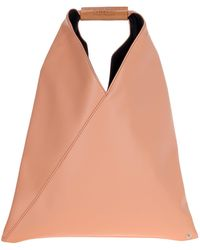 MM6 by Maison Martin Margiela Japanese Small Tote Bag - Natural