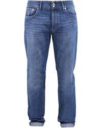Brunello Cucinelli Skinny Jeans - Blue