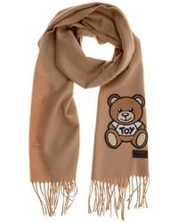 Moschino Men's Scarf Teddy - Natural