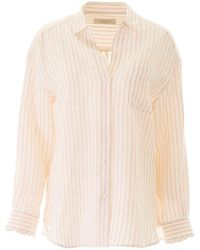 Weekend by Maxmara Striped Shirt - Pink