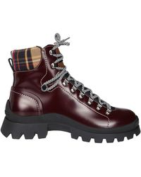 DSquared² Lace-up Hiking Boots - Brown