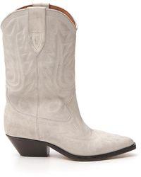 Isabel Marant Duerto Boots - White