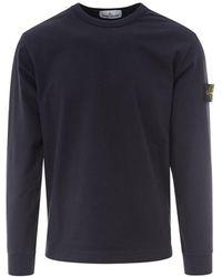 Stone Island - Crewneck Sweater - Lyst