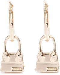 Jacquemus Les Creoles Chiquito Earrings Jewellery - Metallic
