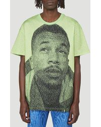 Martine Rose Printed Crewneck T-shirt - Green