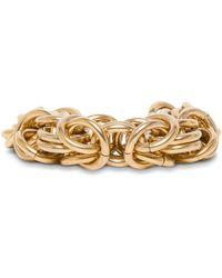 Alberta Ferretti Chain Link Bracelet - Metallic