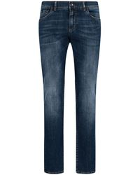 Dolce & Gabbana Slim Fit Jeans - Blue