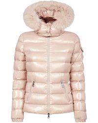 Moncler Badyfur Jacket - Pink
