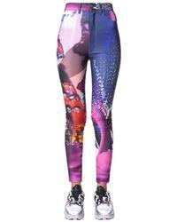 Maison Margiela Graphic Print Skinny Jeans - Multicolor