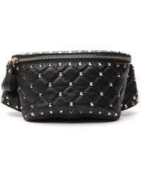 Valentino Valentino Garavani Rockstud Belt Bag - Black