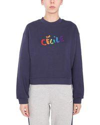 Être Cécile Cecilegradclassicss330gna Other Materials Sweatshirt - Blue